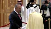 AZERBAYCAN CUMHURBAŞKANI - Bakan Çavuşoğlu Trump'ın Katıldığı Zirvede