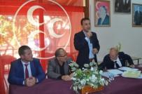 Burhaniye MHP'de Murat Kurt İlçe Başkanı Oldu