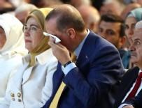 OLAĞANÜSTÜ KONGRE - Cumhurbaşkanı Erdoğan gözyaşlarına boğuldu