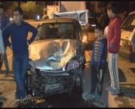 ERKILET - Erkilet Bulvarı'nda Trafik Kazası Açıklaması 5 Yaralı