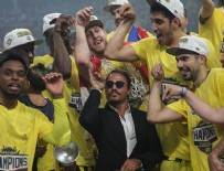 OLYMPIAKOS - Fenerbahçe şampiyonluğu Nusret'le kutladı