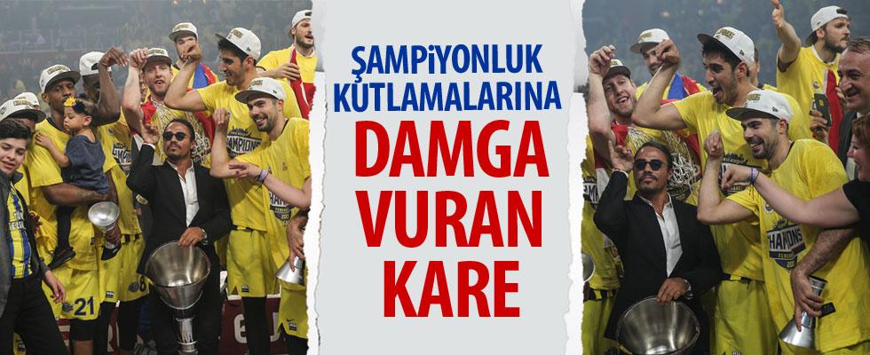 Fenerbahçe şampiyonluğu Nusret'le kutladı