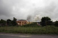 GERİ DÖNÜŞÜM - Gebze'de Plastik Geri Dönüşüm Fabrikasında Yangın