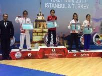 HıRVATISTAN - Kağıtsporlu Karateciler Balkan Şampiyonası'nda Kürsüde