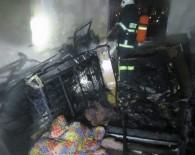 Konaklar Mahallesi'ndeki Yangın Korku Dolu Anların Yaşanmasına Neden Oldu