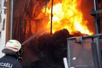 GERİ DÖNÜŞÜM - Plastik Geri Dönüşüm Fabrikasında Korkutan Yangın