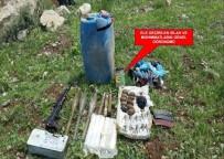 Şırnak'ta Silah Ve Mühimmat Ele Geçirildi