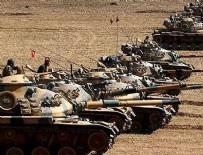 GÜVENLİ BÖLGE - Suriye sınırına yığınak