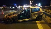 KAVACıK - TEM Otoyolu'nda Feci Kaza Açıklaması 1 Ölü