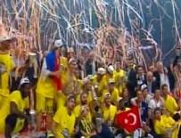 ANADOLU EFES - Türkiye'ye 7. kez basketbolda kupa geldi