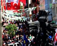 HAVA MUHALEFETİ - Yağmur Yüzünden Ertelen 'Aksu Festival Yürüyüşü' Bugün Düzenlendi