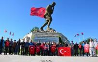 BÜYÜK TAARRUZ - AFDOS Üyeleri Büyük Taarruz Şehitliği'ne Yürüdü