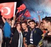 Başkan Çerçioğlu, Fenerbahçe'nin Kupa Coşkusuna Ortak Oldu
