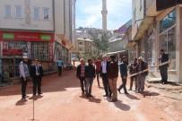 İBN-İ SİNA - Bayburt Belediyesi Yol Ve Sosyal Donatı Çalışmalarına Devam Ediyor