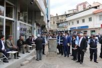 KALDIRIMLAR - Bitlis Belediyesinden Kaldırım İşgaline Son