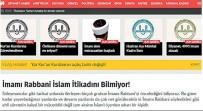 DİYANET İŞLERİ BAŞKANI - Diyanet Teftiş Kurulu, İslam Alimlerine Ve Numan Kurtulmuş'a Hakaret Eden Hadsiz İmamı Korudu