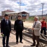 İncesu Belediyesi Hayvan Satış Yerinin İnşaatına Başladı