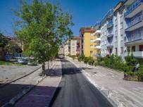 YAYA TRAFİĞİ - İpekçi Caddesinde Çalışmalar Tamamlandı