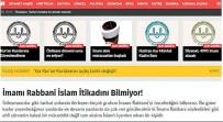 KUTLU DOĞUM HAFTASı - İslam Alimlerine Ve Kurtulmuş'a Hakaret Eden İmamı Diyanet Korumuş