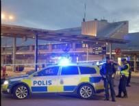ŞÜPHELİ ÇANTA - İsveç'te bomba alarmı