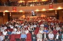NURETTIN TOPÇU - Kahta'da 'Sosyal Medya Ve Algı Yönetimi' Konferansına Yoğun İlgi