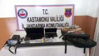 DİZÜSTÜ BİLGİSAYAR - Kastamonu'da Kaçak Kazı Operasyonu
