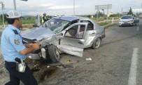 KıRELI - Konya'da İki Ayrı Kaza Açıklaması 1 Ölü, 5 Yaralı