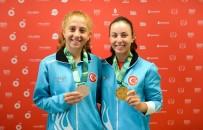 GÜMÜŞ MADALYA - Milli Tenisçilerimiz Teklerde 2 Altın, 2 Gümüş Madalya Aldı