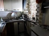 DAR SOKAKLAR - Mutfakta Çıkan Yangın Mahalleliyi Korkuttu