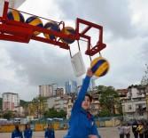 BEDEN EĞİTİMİ ÖĞRETMENİ - Öğretmenden Voleybol Smaç Makinesi