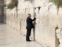 AĞLAMA DUVARı - Trump Kudüs'teki kutsal mekanları gezdi