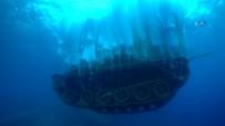 ÜRDÜN - Askeri Tank Böyle Batırıldı