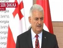 GÜRCISTAN - Başbakan Yıldırım: Bu saldırıyı lanetliyoruz
