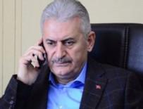 BİNALİ YILDIRIM - Başbakan Yıldırım'dan taziye telefonu