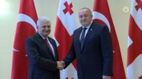 GÜRCİSTAN CUMHURBAŞKANI - Başbakan Yıldırım Gürcistan Cumhurbaşkanı İle Görüştü
