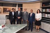 MEHMET KELEŞ - Başkan Keleş'e Makam Ziyaretleri