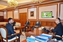 MUSTAFA TOPRAK - Başkan Samanlı Vali Toprak'ı Ziyaret Etti