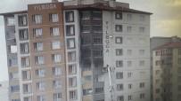 Binada Çıkan Yangın Korku Dolu Anların Yaşanmasına Neden Oldu