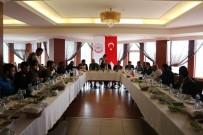 BASIN MENSUPLARI - BİRKONFED Erzurum Yönetimi Basın Mensupları İle Buluştu