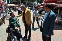 NİYAZİ NEFİ KARA - Engelli Vatandaşlardan Yıl Sonu Kermesi