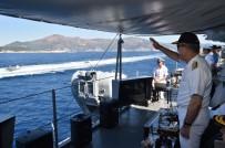 DENIZ KUVVETLERI KOMUTANı - Genelkurmay Başkanı Akar, 'Denizkurdu 2017' Tatbikatını Yerinde İzledi