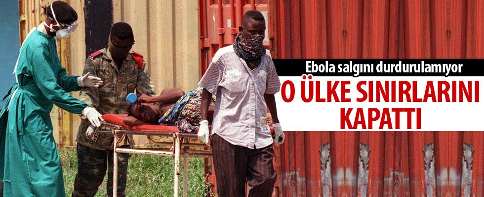 Ebola salgınına karşı sınır önlemi