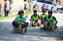 OSMAN KıLıÇ - Hisarcık'taki Tahta Araba Yarışmaları Nefesleri Kesti
