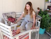 RÖGAR KAPAĞI - İzmir'de rögara düşen kız öğrenci yaralandı