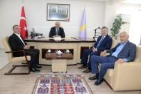 MHP İl Başkanı Mehmet Karagöz İlk Ziyaretini ESOB'a Gerçekleştirdi