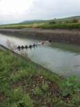 SULAMA KANALI - Otomobil Sulama Kanalına Uçtu Açıklaması 1 Ölü