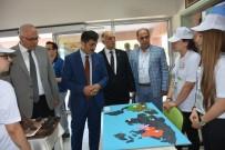 Salihli'de  TUBİTAK Bilim Fuarı Açıldı