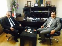 PRİM BORCU - SGK İl Müdürü Göksoy'dan Başkan Berge'ye Ziyaret