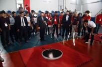 ROBOTLAR - Sumocu Robotlar Bursa'da Yarıştı