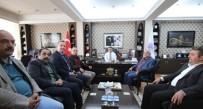 Tankut'tan Başkan Aksoy'a Taziye Ziyareti